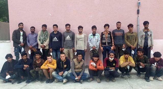 Jandarma, 42 kaçak göçmen yakaladı