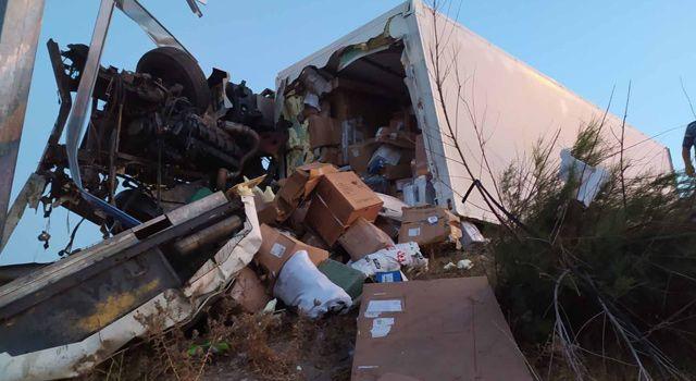 Osmaniye'de, kamyon, kurbanlık taşıyan TIR'a çarptı: 1 ölü