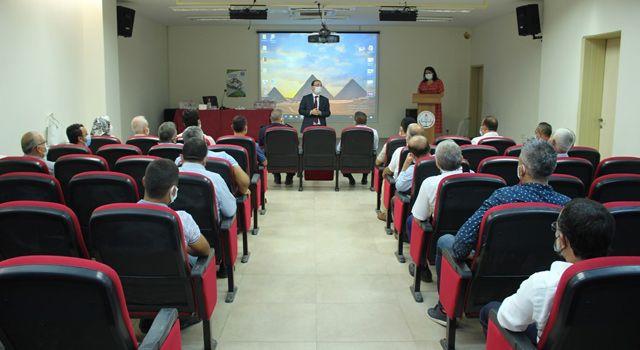 Toprakkale'de Muhtarlar toplantısı yapıldı