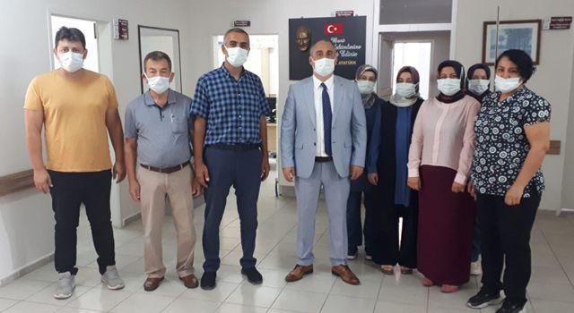 Kaymakam Turgay İlhan, Devlet Hastanesini ziyaret etti