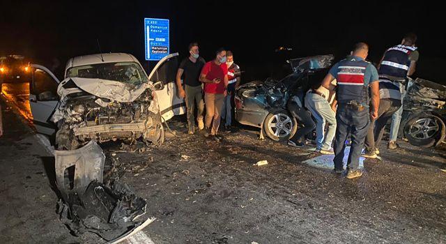 Osmaniye'de otomobil ile hafif ticari araç çarpıştı: 1 ölü