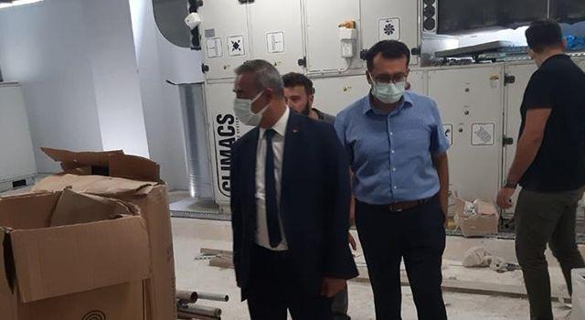 Toprakkale devlet Hastanesi inşaatı sürüyor