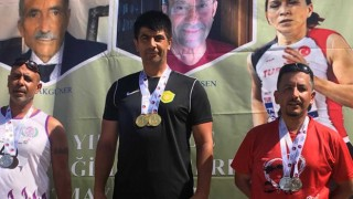 Masterler Türkiye Şampiyonasından 5 dalda 5 madalya