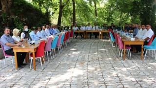 Gaziantep Vali Yardımcısı olan Almalı'ya veda yemeği